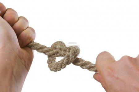 Tying ropes