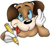 Brown Dog Writing
