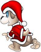Bear Santa Claus
