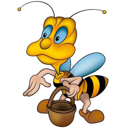 Wasp and Handbasket