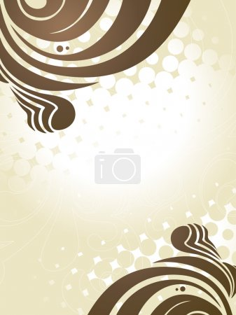 Illustration for Abstract vector artistic background design - Royalty Free Image