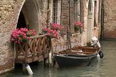 Balcony in Venice, Italy