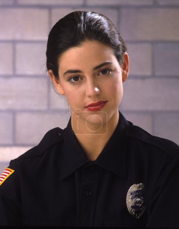 Female law enforcement officer