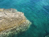 Steep sea bank
