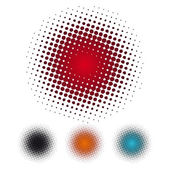 Halftone dots backgrounds
