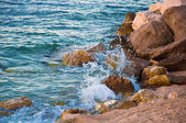 Splash of Sea Waves