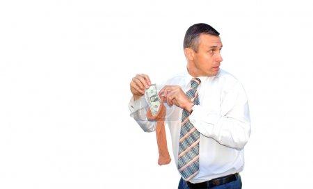 Hoarding money
