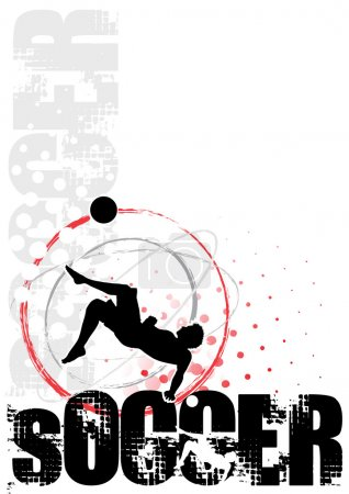 Cyrcle soccer poster
