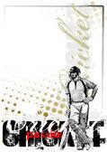 Cricket background 2