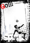 Dirty soccer background 3