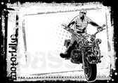 Motorbike poster background 2