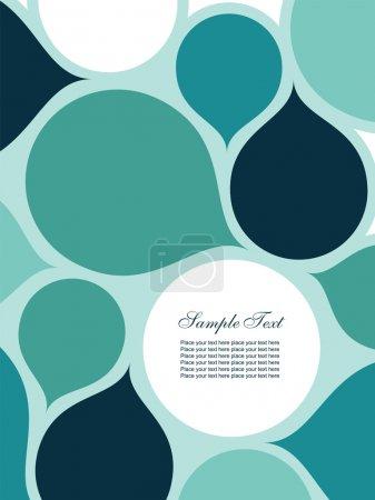Illustration pour Fond abstrait avec espace pour le texte. Facile à modifier l'image vectorielle . - image libre de droit