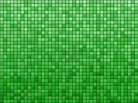 Foto de Azulejo verde patrón de fondo. imagen generada por ordenador. - Imagen libre de derechos