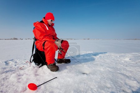 Fishing on ice