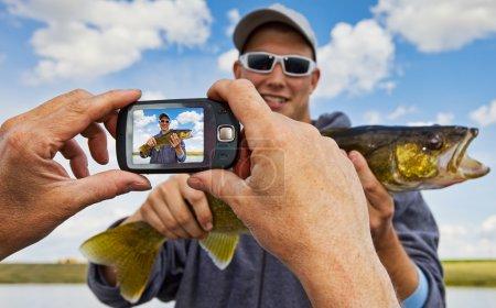 Fisherman snapshot