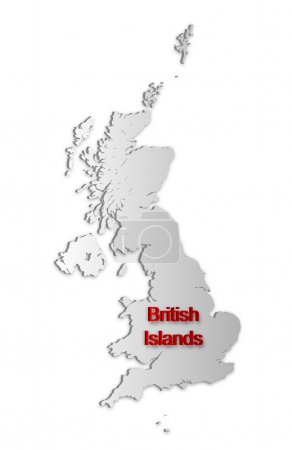 British Islands Map