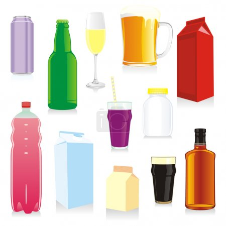 Isolated drink containers