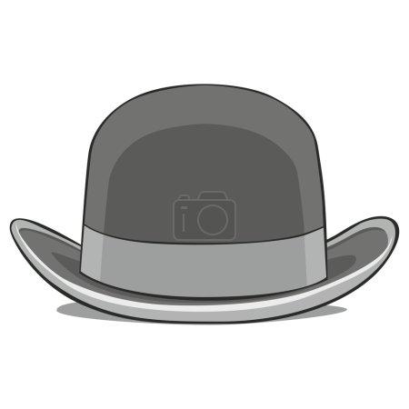 Illustration of one hat derby