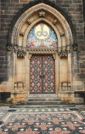 Church gothic door