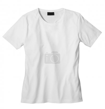 Photo for Unisex T-shirt template (isolated on white, clipping path) - Royalty Free Image