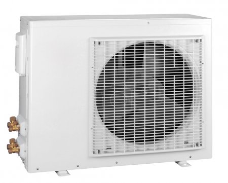 Air conditioner isolated with clipping path