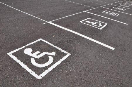 symbole du fauteuil roulant
