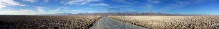 Photo for Panoramic look at the Salar de Atacama near San Pedro de Atacama, Chile - Royalty Free Image