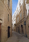 Lonely Alley of Molfetta. Apulia.
