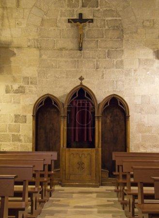 Matera Church Indoor. Basilicata.