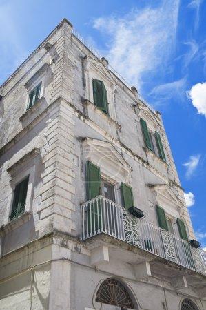 Historic Palace. Matera. Basilicata.
