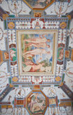 """Постер, картина, фотообои """"Дворец Corgna потолок на воздухе. Кастильоне-дель-Лаго. Умбрия."""""""