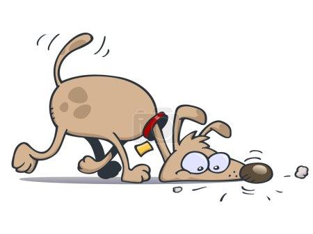 Sniffing dog