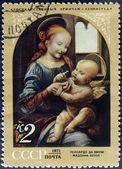Benois madonna frimärke