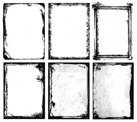 texturierte Rahmen / 1