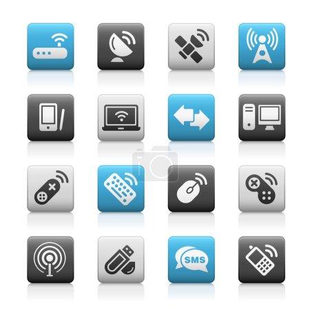 Wireless & Communications Icons