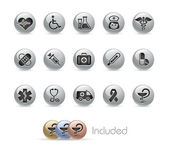 Medizinische / / Button-Serie Metal