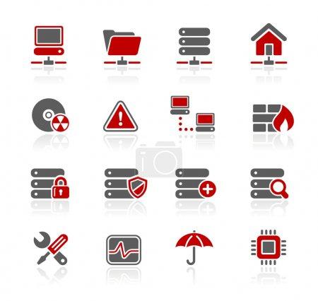 Illustration pour Icônes professionnelles pour votre site Web ou présentation. -Format de fichier eps8- - image libre de droit
