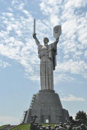Statue des Vaterlandes in Kiev
