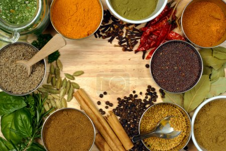 Photo for Image of spices - spice is nice. - Royalty Free Image