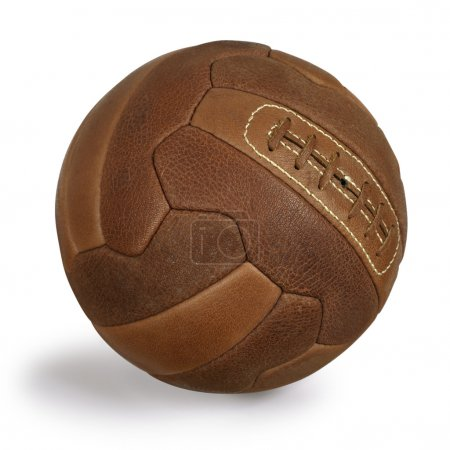 Retro soccer ball