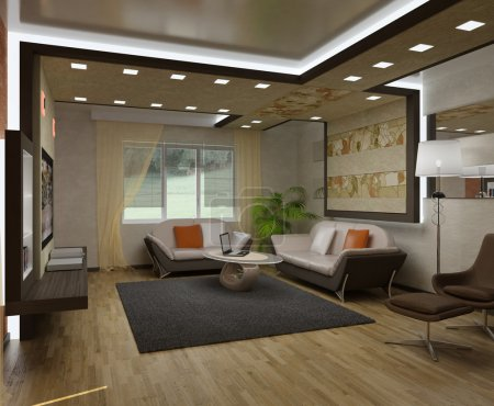 3D interior apartments