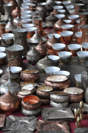 Accessories for making Turkish coffee
