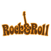 Rock and Roll vintage shirt design