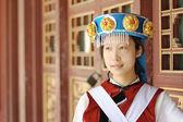 Kínai nő a hagyományos ruhák