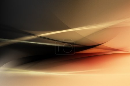 Abstract red, black, orange waves or veils background texture