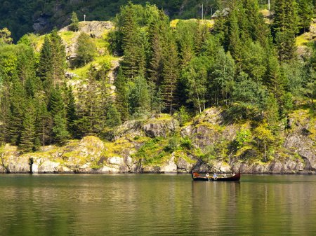 Viking Rowboat