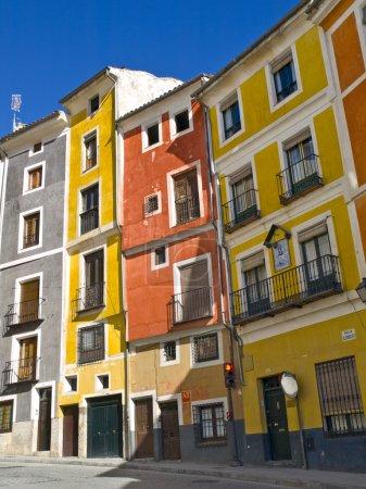 Cuenca colourful architecture