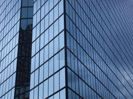 Glass Building Windows Background