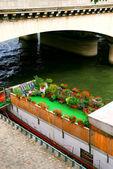Houseboat in Paris