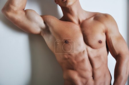 Photo for Athletic man with six-pack abs - Royalty Free Image